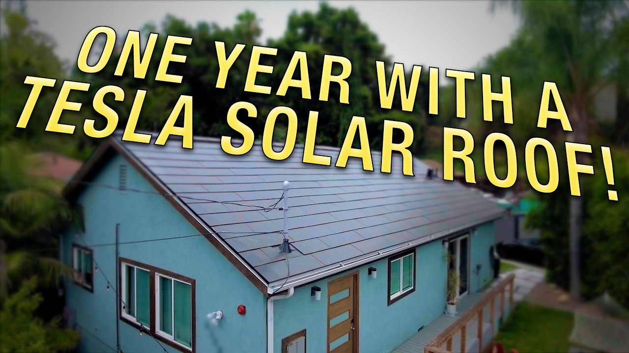 1-Year-with-Tesla-Solar-Roof-top-11-questions-answered-real-production-numbers-utility-bills