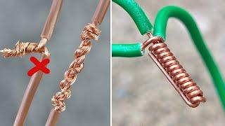 9-Ways-to-Twist-Electric-Wire-Together-Useful-Tricks-Thaitrick