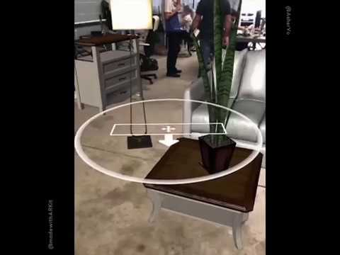 ARKit-Furniture-dropping-app-by-Asher-Vo