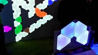 Aurora-de-Nanoleaf-leclairage-connecte-modulaire-fait-sensation-au-CES-2017