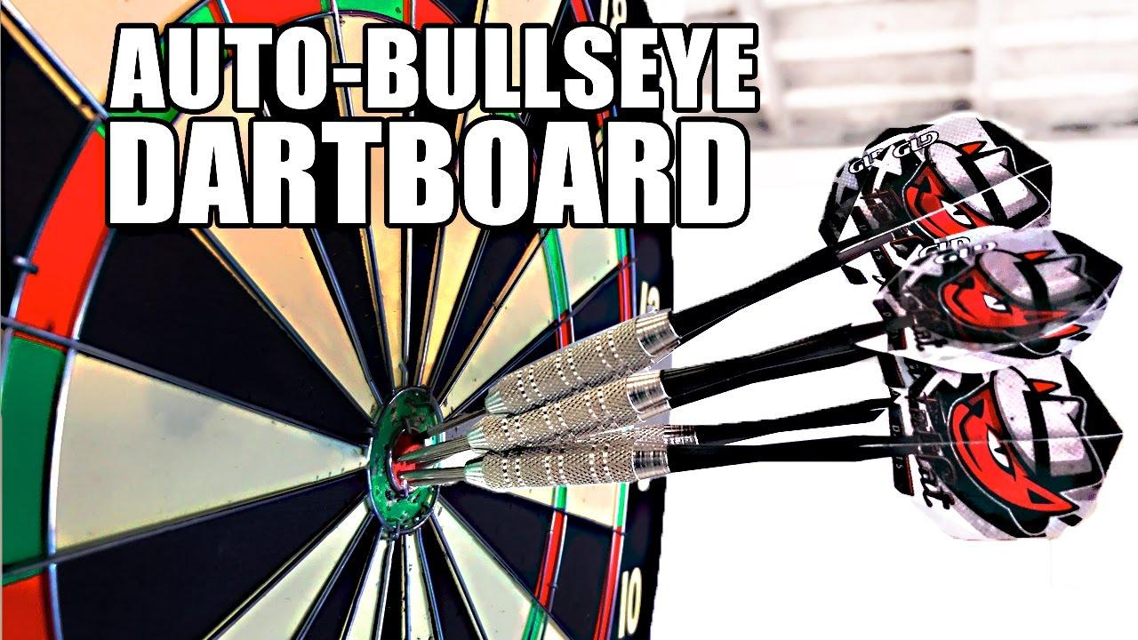 Automatic-Bullseye-MOVING-DARTBOARD