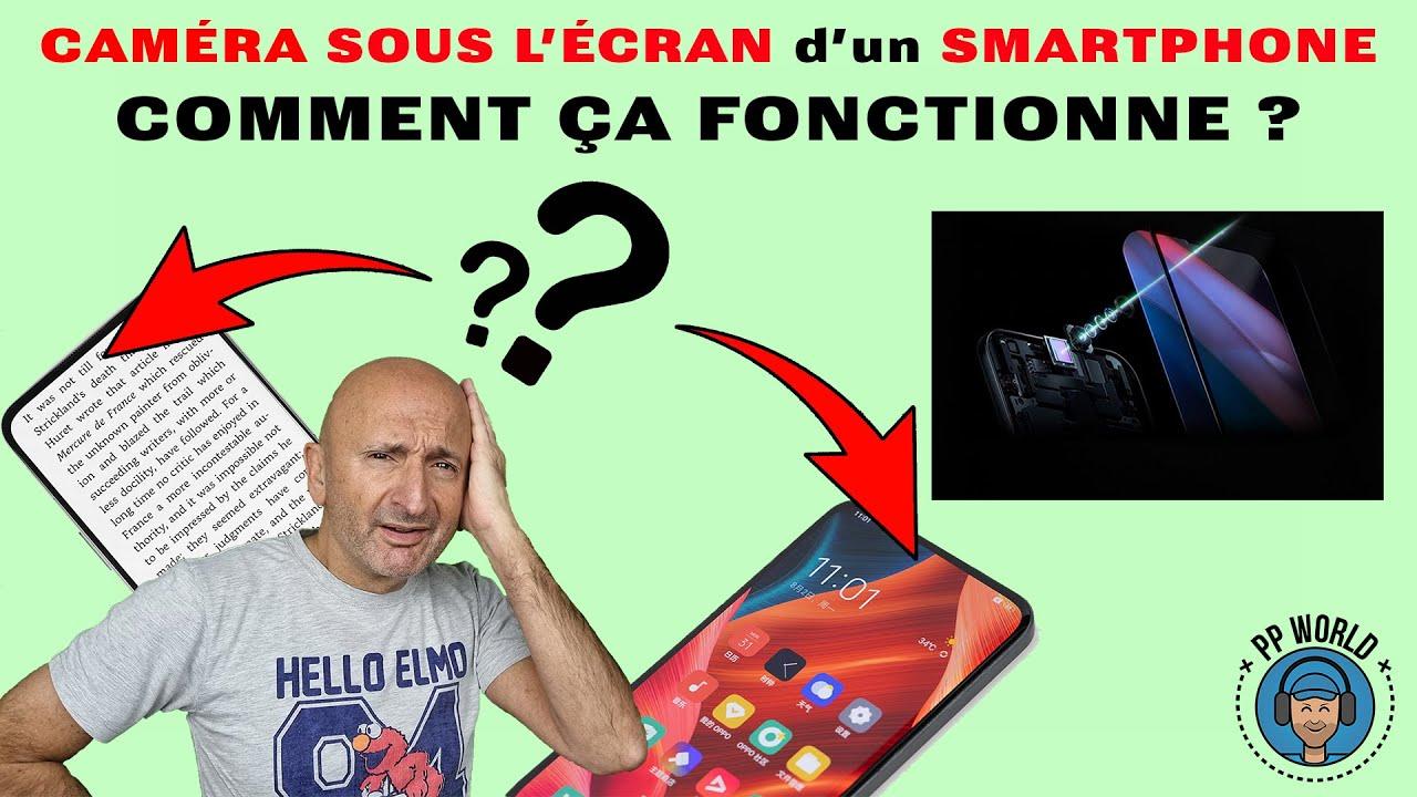 Capteur-SOUS-ecran-de-Smartphone-COMMENT-ca-FONCTIONNE-avec-Annonce-OPPO-en-exclu