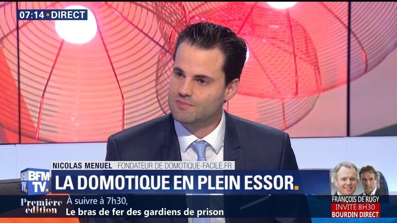 Domotique-Facile.Fr-sur-BFM-TV