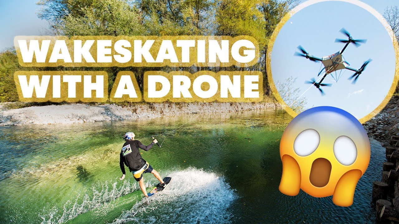 Drone-Wakeskating-In-Slovenia