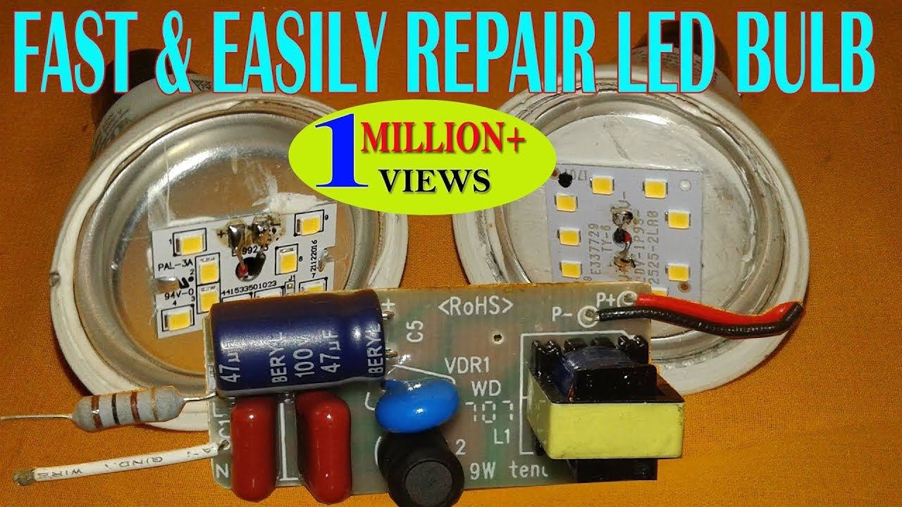 FAST-EASILY-REPAIR-LED-BULB-AT-HOME