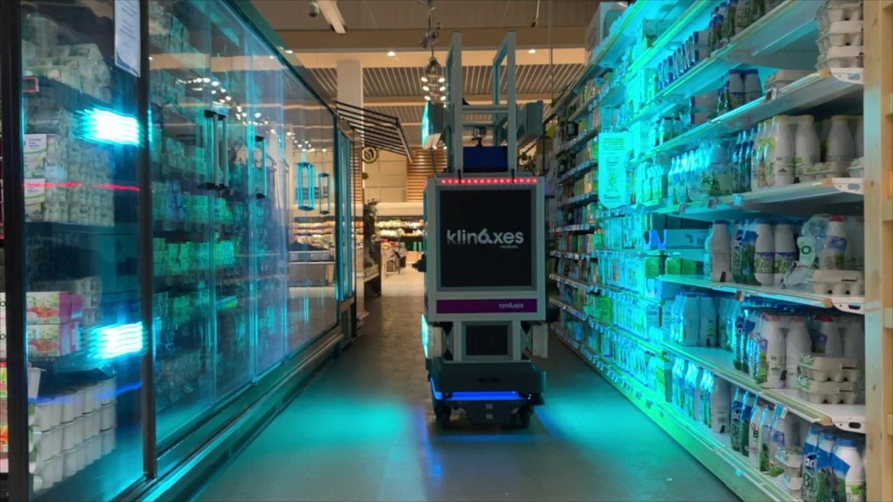 Klinaxes-Robot-mobile-autonome-de-desinfection-par-ultraviolets