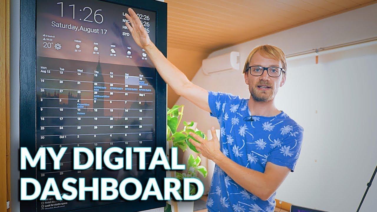 Making-a-Digital-Dashboard-w-Google-Calendar-integration