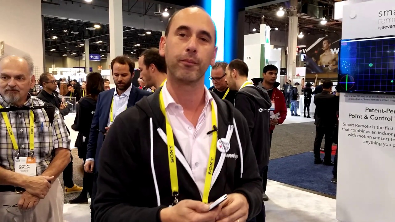 Presentation-de-la-Smart-Remote-de-Sevenhugs-au-CES-2017