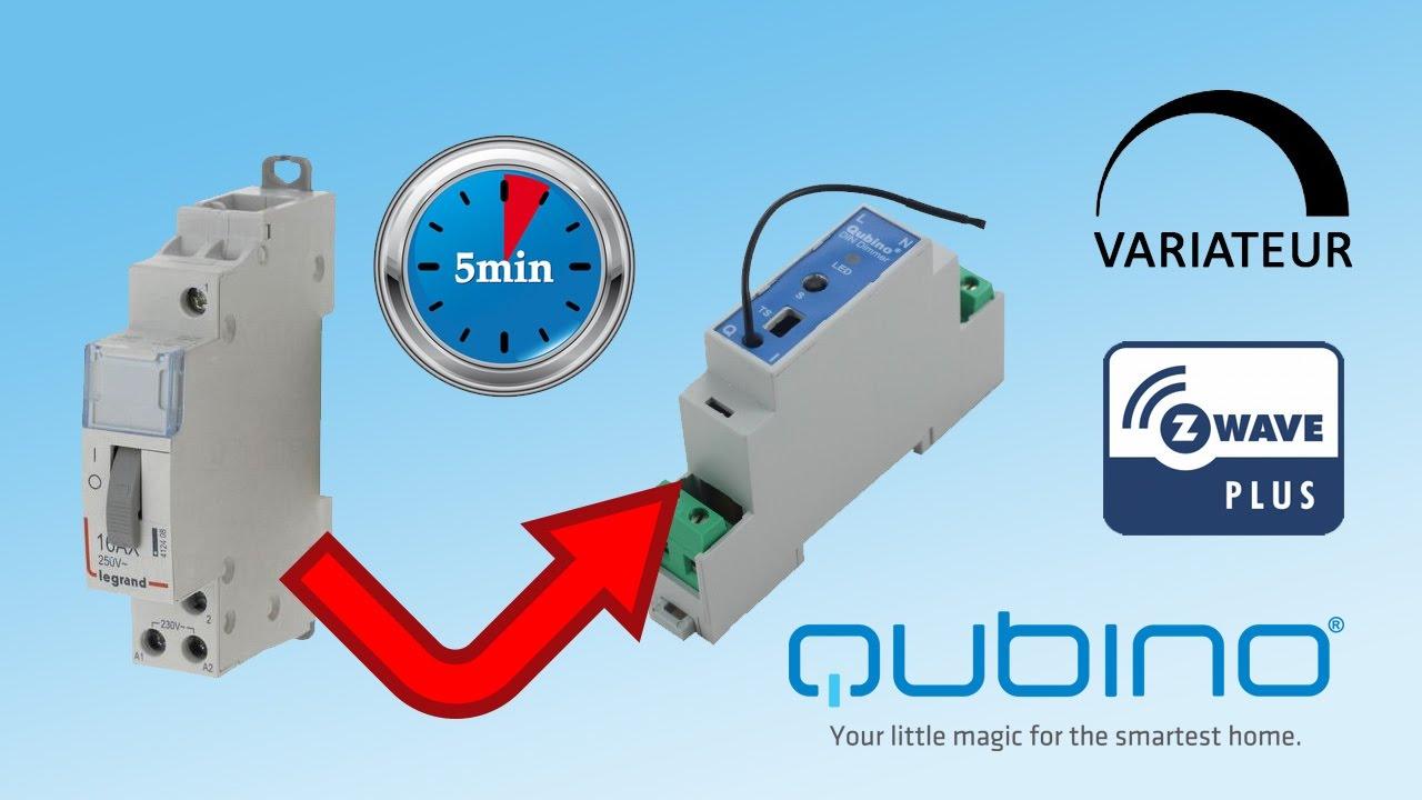 Qubino-un-variateur-Z-Wave-rail-DIN-en-remplacement-dun-telerupteur