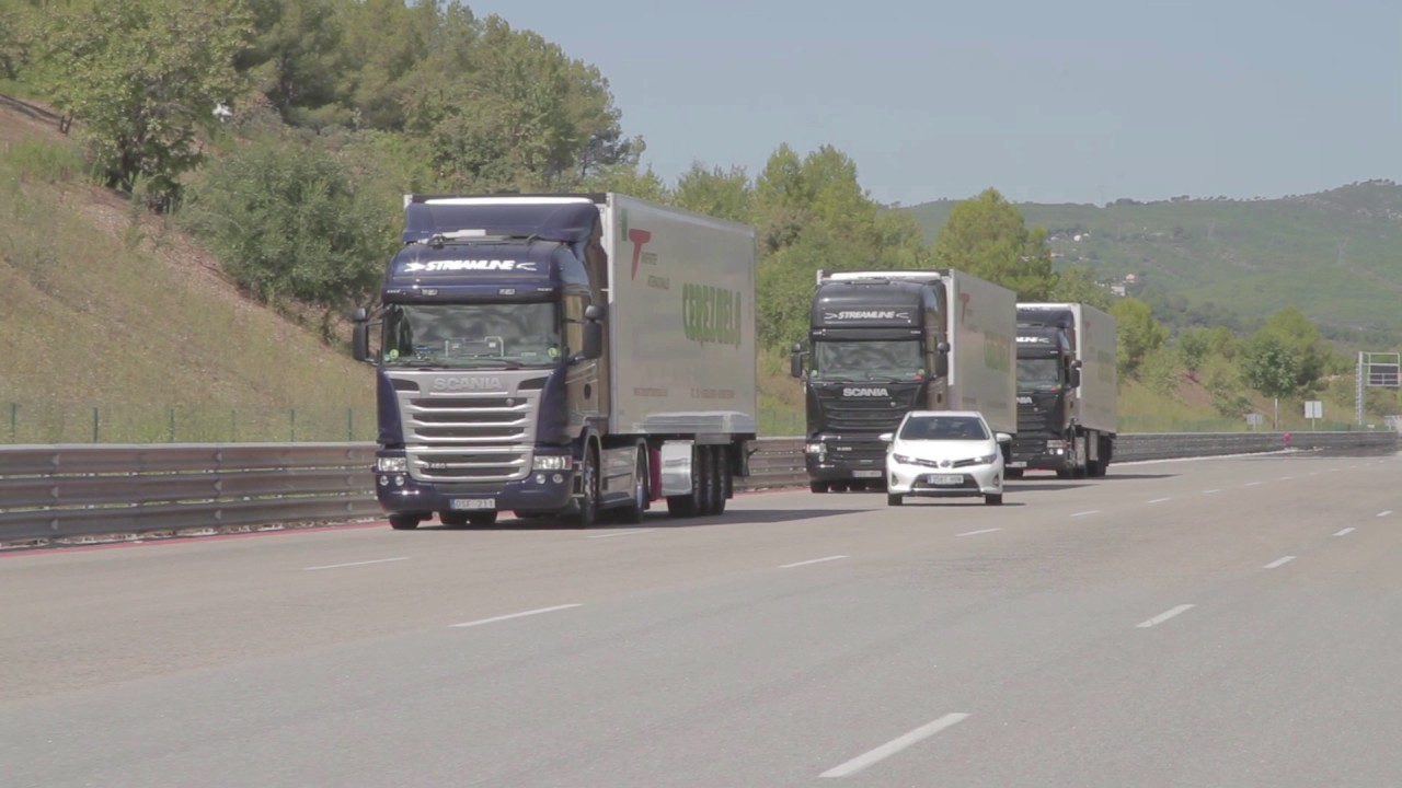 Scania-develops-autonomous-truck-platooning-in-Companion-project