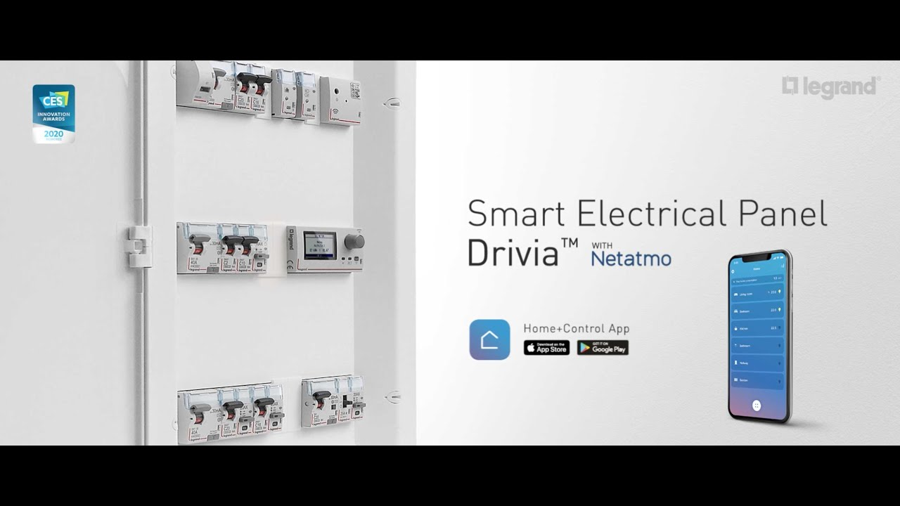 Smart-Electrical-Panel-Drivia-with-Netatmo-take-full-control-of-your-home