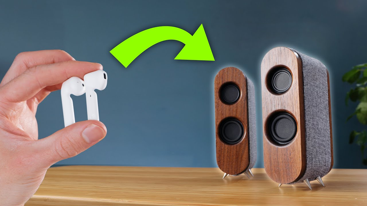 Transforming-dead-earbuds-into-POWERFUL-wireless-speakers