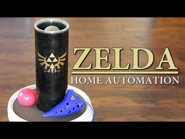 Zelda-Ocarina-Controlled-Home-Automation-Zelda-Ocarina-of-Time-Sufficiently-Advanced