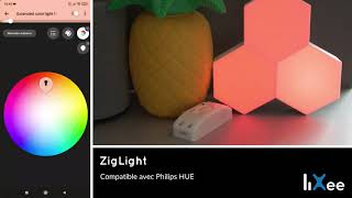 ZigLight-Demo-cololight-Philips-HUE